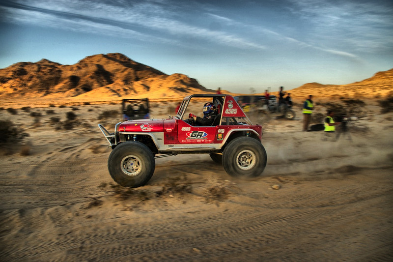 Tony Pellegrino pre running the 2013 King of the Hammers race course
