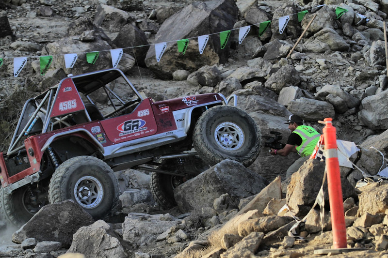 GenRight Jeep YJ in the 2013 king of the hammers race